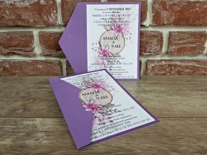 Invitatie nunta cod 55994