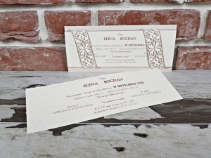 Invitatie nunta cod 56392