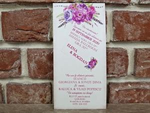 Invitatie nunta cod 55933