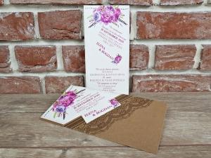 Invitatie nunta cod 55935