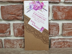 Invitatie nunta cod 55930