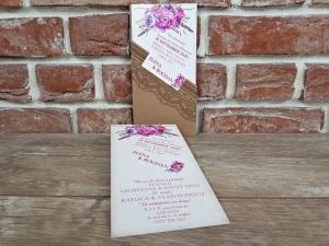 Invitatie nunta cod 55932