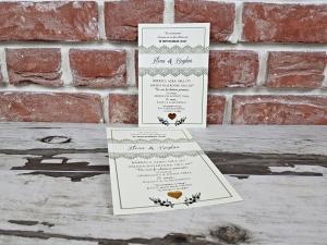 Invitatie nunta cod 56101