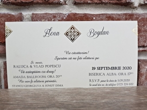 Invitatie nunta cod 56543