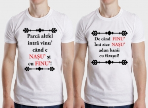 Set Tricouri Personalizate - Nasu si Finu0