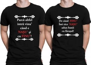 Set Tricouri Personalizate - Nasu si Finu1