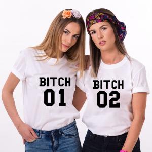 Set Tricouri Prieteni - Bitch 1, Bitch 21