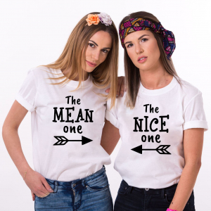 Set Tricouri Prieteni - The Mean One, The Nice One0