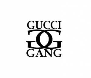 Sticker Auto - Gucci Gang0