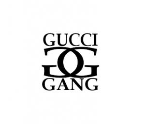 Sticker Auto - Gucci Gang [0]