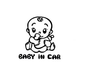 Sticker Auto - Baby In Car 20