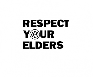 Sticker Auto -  VW Respect Your Elders0