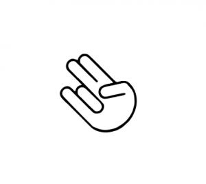 Sticker Auto - JDM Shocker Hand0