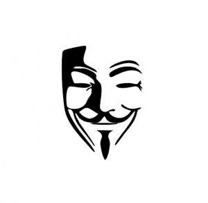 Sticker Auto - Anonymus 30