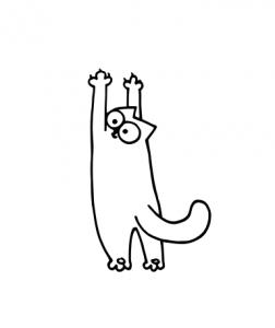 Sticker Auto - Simon's Cat 2 [0]