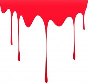 Sticker Auto - Pata de sange1