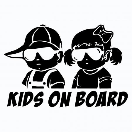 Sticker auto - Kids on board [1]