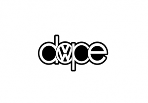 Sticker Auto - VW Dope0