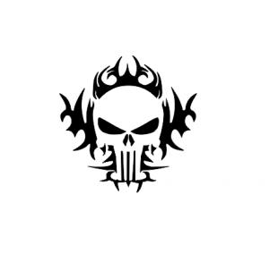 Sticker Auto - Skull0