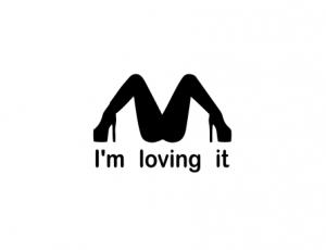 Sticker Auto - I'm Loving It0