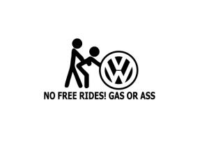 Sticker Auto - Gas Or Ass0