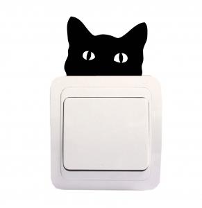 Sticker Decorativ Intrerupator - Pisica 10