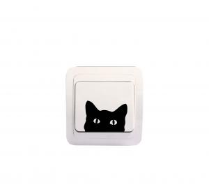 Sticker Decorativ Intrerupator - Pisica 11