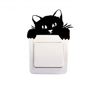 Sticker Decorativ Intrerupator - Pisica 20