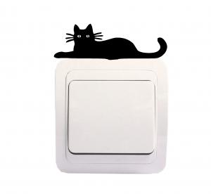 Sticker Decorativ Intrerupator - Pisica 6 [0]