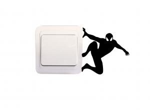 Sticker Decorativ Intrerupator - Spiderman0