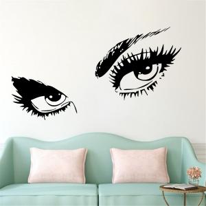 Sticker Decorativ Perete - Ochi Glamour0