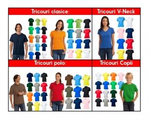 Set Tricouri Cuplu Personalizate - Te iubesc cu Nume si Poza [2]