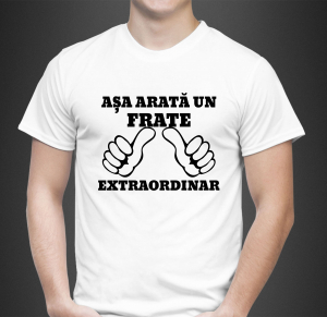 Tricou Personalizat - Asa arata un frate extraordinar0