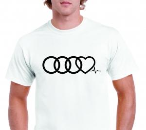 Tricou Personalizat Auto - Audi Life1