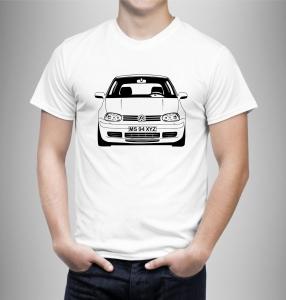 Tricou Personalizat Auto - VW Golf 4 model 20