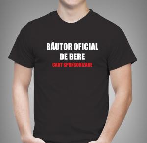 Tricou Personalizat - Bautor Oficial De Bere1