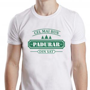 Tricou Personalizat - Cel Mai Bun Padurar Din Sat1