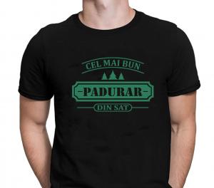 Tricou Personalizat - Cel Mai Bun Padurar Din Sat0