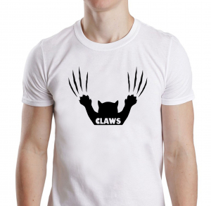 Tricou Personalizat - Claws Not Jaws1