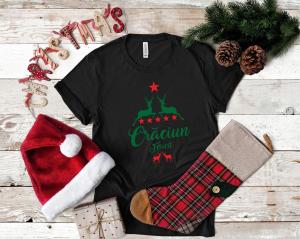 Tricou Personalizat Craciun - Craciun Fericit1
