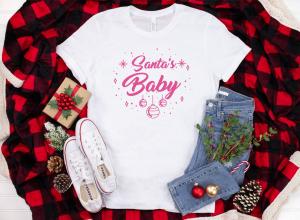 Tricou Personalizat Craciun - Santa's Baby1