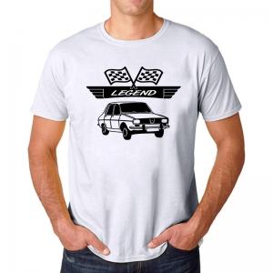 Tricou Personalizat cu nume sau numar auto - Dacia 13100