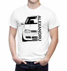 Tricou Personalizat cu nume sau numar auto - Volksvagen Golf IV2