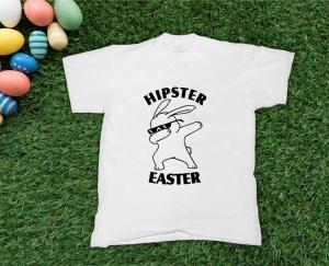 Tricou Personalizat de Paste - Hipster Easter [0]
