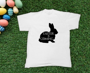 Tricou Personalizat - Easter Is Coming0