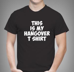 Tricou Personalizat Funny - Hangover T Shirt [0]