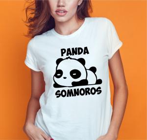 Tricou Personalizat Funny - Panda Somnoros0
