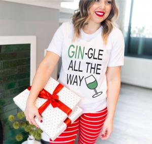 Tricou Personalizat - Gin-gle All The Way0