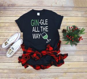 Tricou Personalizat - Gin-gle All The Way1