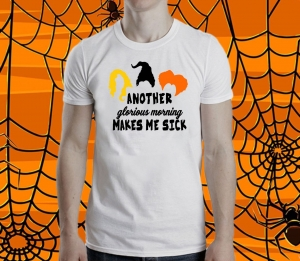 Tricou Personalizat Halloween - Another glorious morning1